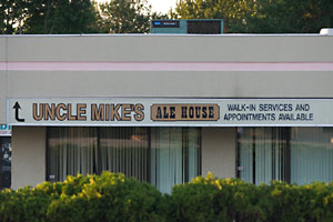 Uncle Mike's Ale House - Walk In Services and Appointments Available