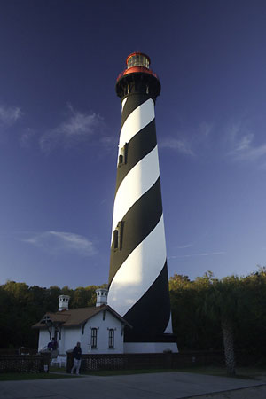 St. Augustine Lighthouse in the early morning light
